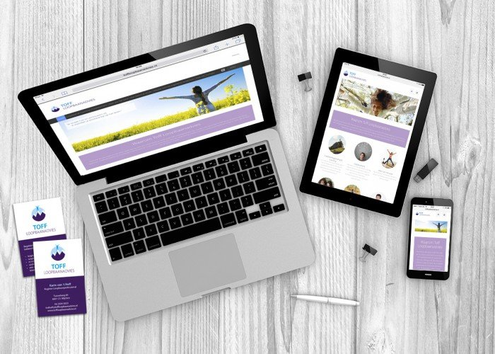 responsive website toff loopbaanadvies
